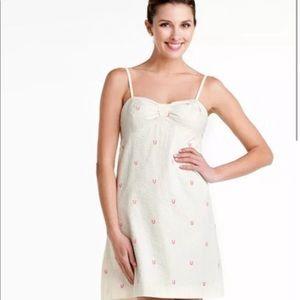 Lilly Pulitzer Spring Seersucker Horseshoe Dress
